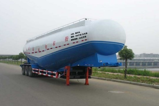 40m3 3-axles bulk cement semi trailer