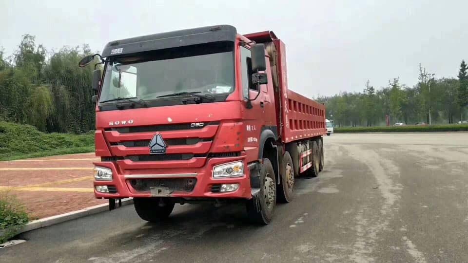 Used HOWO 8X4 dump truck