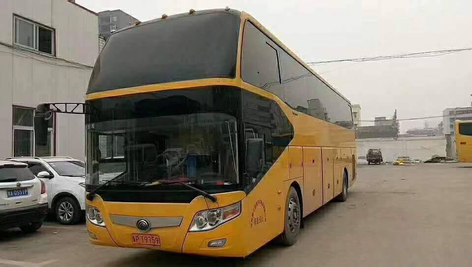 59 Seats Yutong Second Tourist Bus  Diesel
