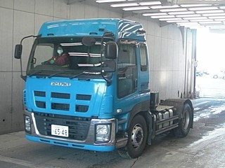 ISUZU USED trailer truck