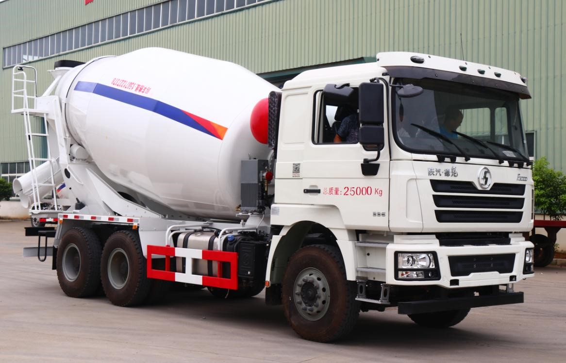Second hand 12m3 SHACMAN Concrete Mixer Truck