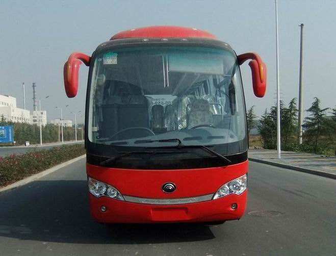 40 Seats Yutong Used Commercial Bus 2011 Year National Emission Standard