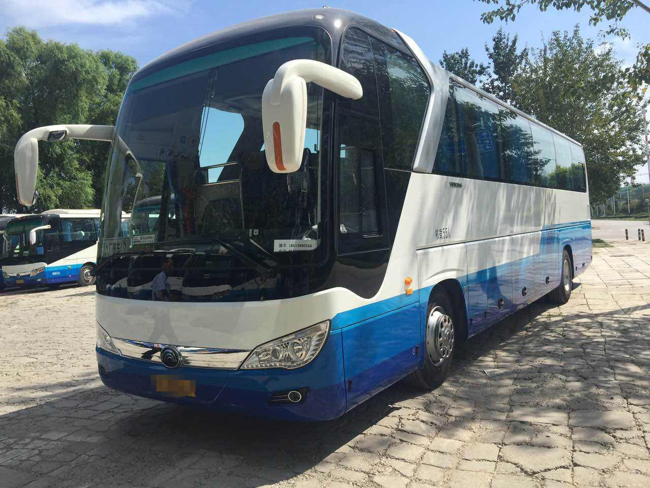 China Supplier 55 Seats Yutong Used Luxury Coaches Euro 4 Emission Standard 100 Km/H Max Speed