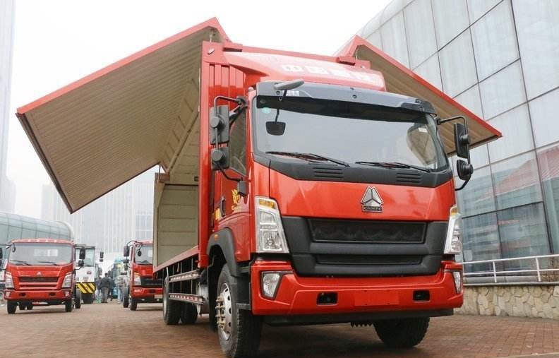 4×2 EURO V Used SINOTUK-HOWO Cargo Truck