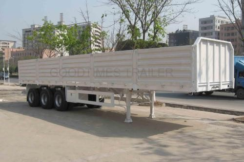 30ft Used side wall semi trailer