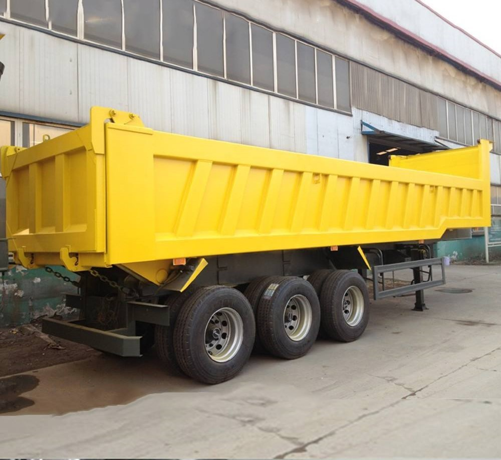 45Ton Payload Used Dumping Tipper Trailer