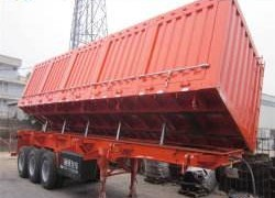 35Ton Payload Used Dumping Tipper Trailer