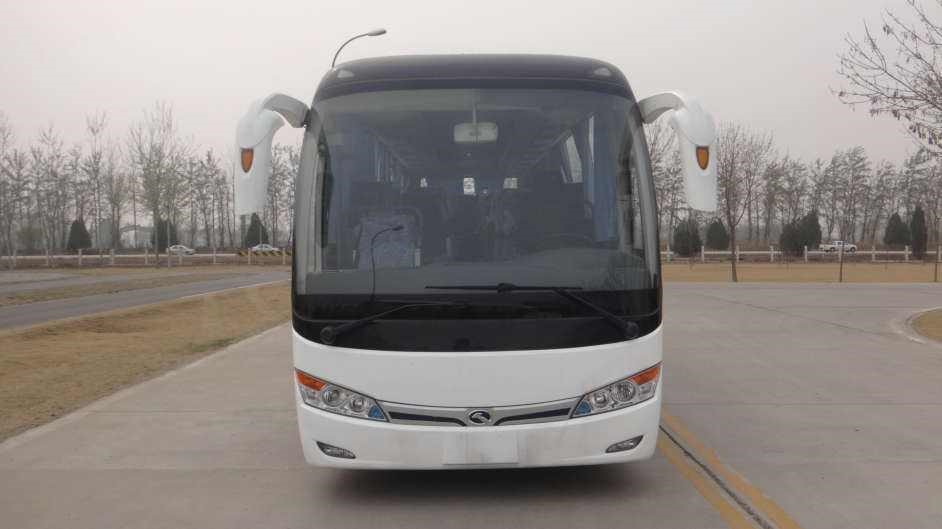 Used Kinglong 51 seats Bulk Passengers Bus With Low Price High Performance